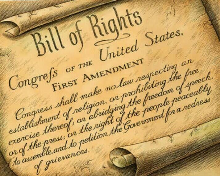 First Amendment Graphic