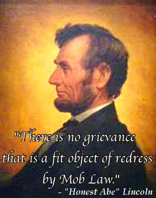 honest abe redress of grievences