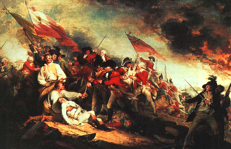 Bunker Hill painting