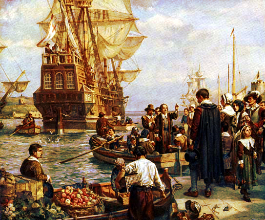 Pilgrim Fathers & Mayflower